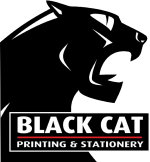 Black Cat Printing & Stationery (see advert under 'Printing Services')